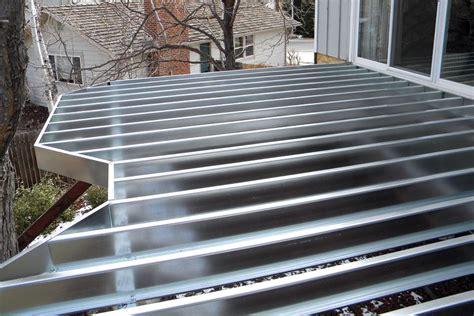 building  steel joists professional deck builder