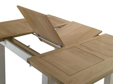 concept cuisine table repas extensible et rallonge papillon terre meuble