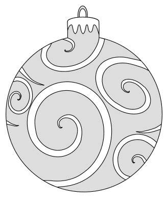 diy christmas ornament patterns templates stencils