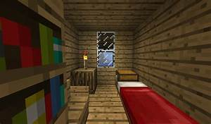 Minecraft House - Interior - Bedroom by sam1312 on DeviantArt