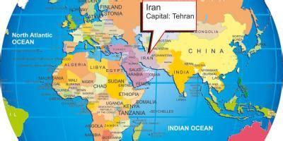 iran la perse la carte cartes iran perse asie du