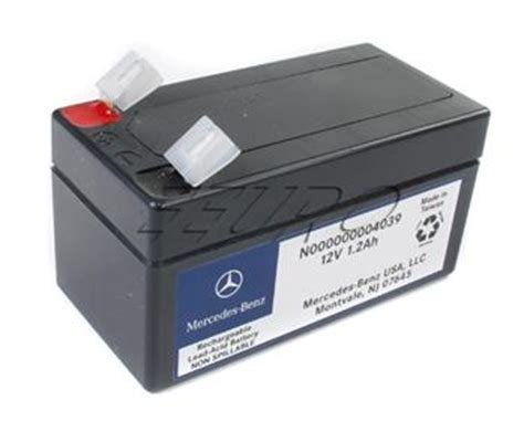 genuine mercedes auxiliary battery