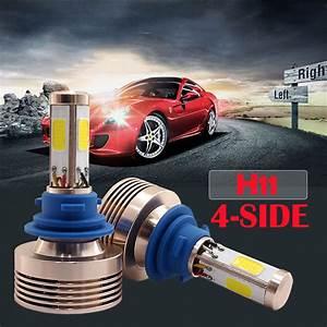 120w 12000lm H8  H9  H11 Led Conversion Headlight Kit Xenon