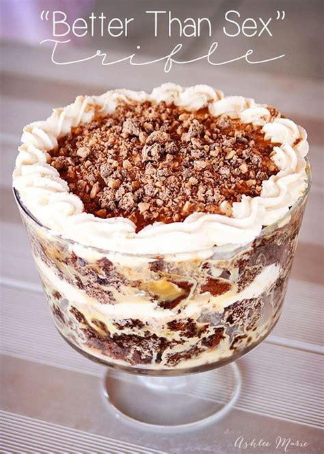 trifle bowl recipe better than sex trifle recipe make ahead desserts love and desserts