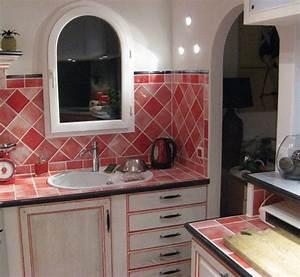 Beautiful Faa¯ence Cuisine Rouge 10x20 Contemporary Design Trends ...