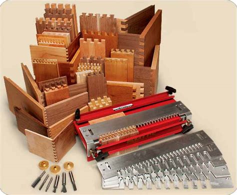 mlcs master joinery dovetail set  templates