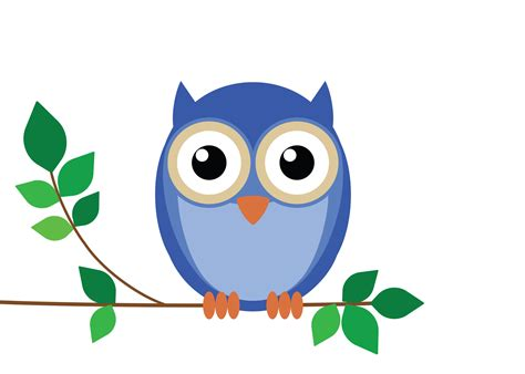 Hurry Cartoon Owl Pictures For Kids Cute White Background