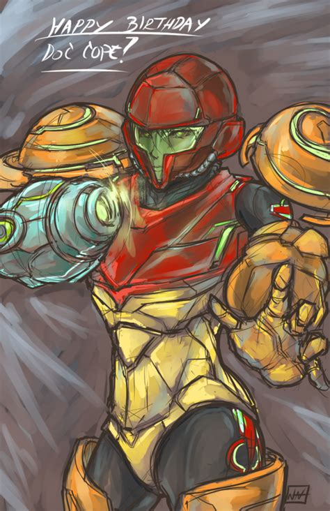 Samus Birthday T By Bulletproofturtleman On Deviantart