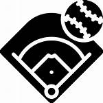 Baseball Field Icon Stadium Icons Svg Ball