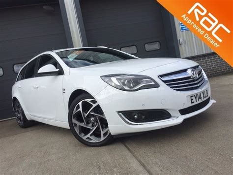 vauxhall insignia white used white vauxhall insignia for sale essex