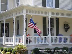 porch columns design options for curb appeal and more - Front Porch Home Plans