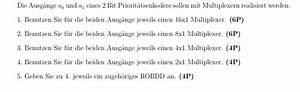 Ohmscher Widerstand Berechnen : ausg nge f r 2 bit priorit tsenkoder mit multiplexern ~ Themetempest.com Abrechnung