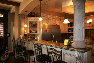 bar in kitchen ideas construction