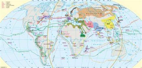 Schifffahrtsrouten Weltweit Karte