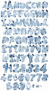 Ice Rotation Font - Handmadefont