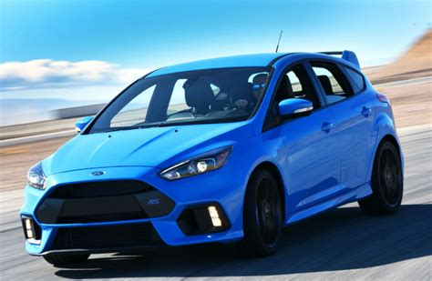 Ford Performance Focus Rs by Official 2017 Ford Focus Rs Performance Specs