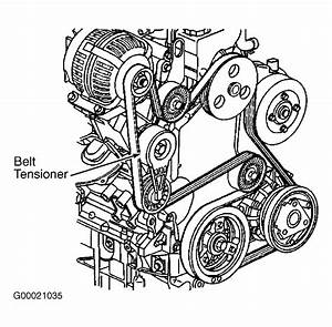 2001 Pontiac Grand Am Serpentine Belt Routing And Timing