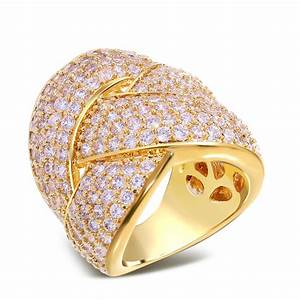 aliexpresscom buy wedding rings copper material gold With high quality cubic zirconia wedding rings