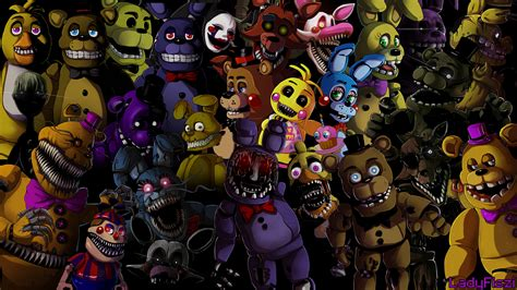 fnaf  characters wallpaper  images