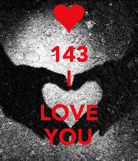 143 I Love You Poster  Theunitedbe  Keep Calmomatic