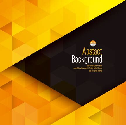 Abstract Black And Yellow Design by Yellow With Black Modern Abstract Vector Background Free