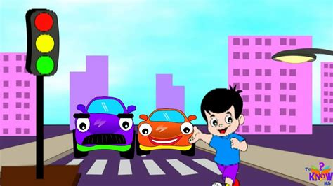 Kids#; Zone Learn Traffic Signals Road Safety With J