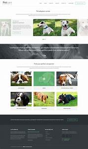 Pet care dog kennels by kleverthemes themeforest for Dog boarding website