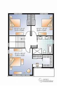 plan maison 2 etage plan au sol du 1er tage plan de With plan maison 2 tages 4 chambres