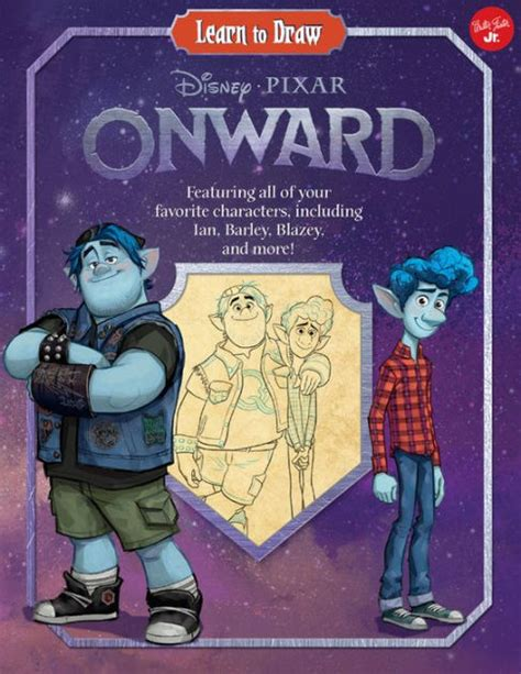 learn  draw disneypixar onward featuring