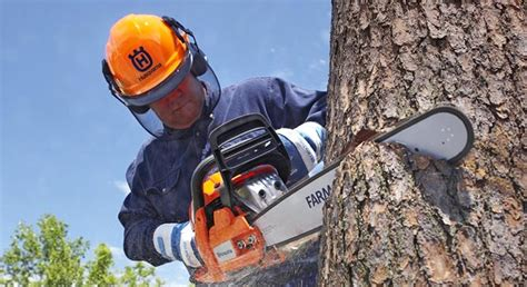 Emergency Services Respond To Chainsaw Accident