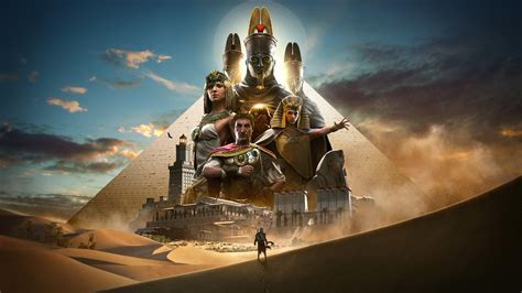 wallpaper assassins creed origins    poster