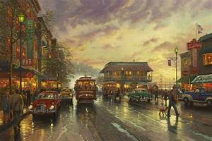 City by the Bay – Limited Edition Art The Thomas Kinkade