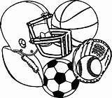 Coloring Pages Soccerball Soccer Ball Sheets Sheet Stress Popular sketch template