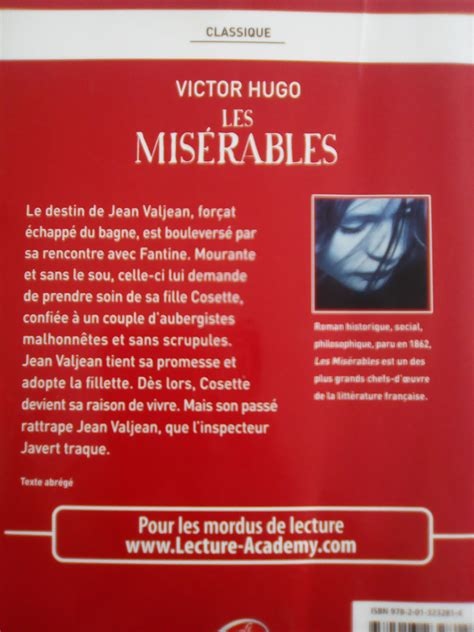 couvertures images et illustrations de les mis 233 rables de