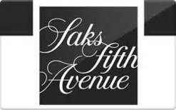 Saks Fifth Avenue Gift Card Balance