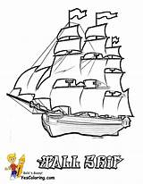 Coloring Ship Pages Tall Boat Boats Navy Ships Printable Drawing Sailing Printables Cool Cargo Colouring Sheet Pirate Coloringfolder Cartoon Yescoloring sketch template