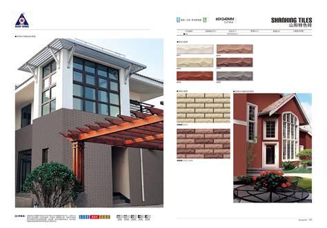 modern house design outside tile porcelain exterior wall