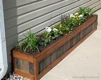 "build a planter box ""Something Old, Something New"" Planter Box - Infarrantly ..."