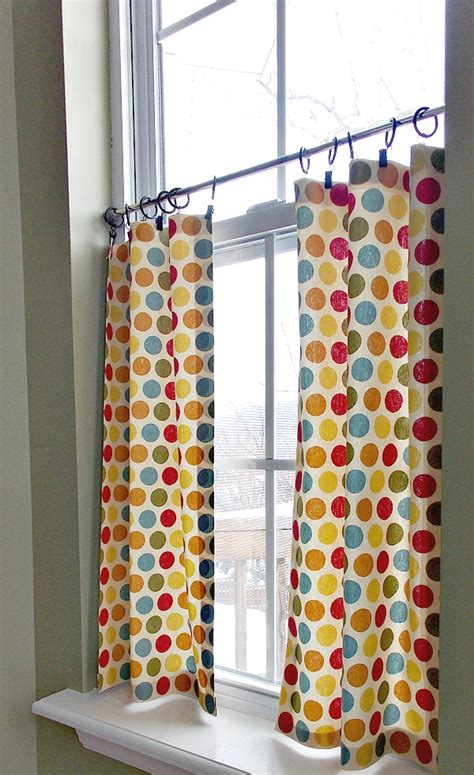how to make cafe curtains diy no sew caf 233 curtains sweet parrish place