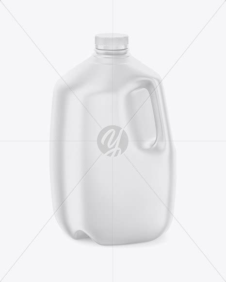 Offer many aftertreatment such as frosted , sandblast , spray ,decal,logo printing. Download Frosted Plastic Jug With Milk Mockup Back Half ...