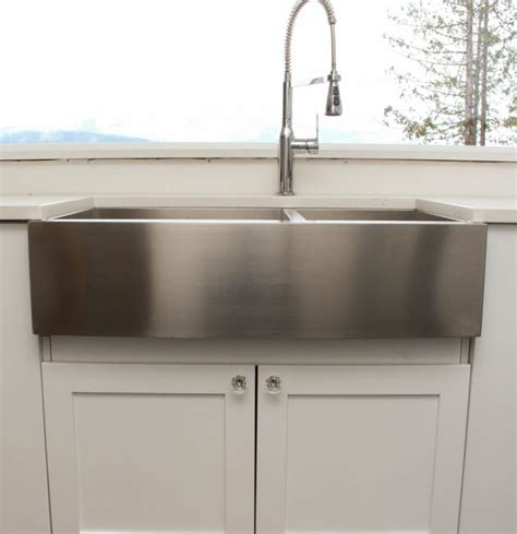 stainless steel farm sink things to know about buying installing a stainless steel