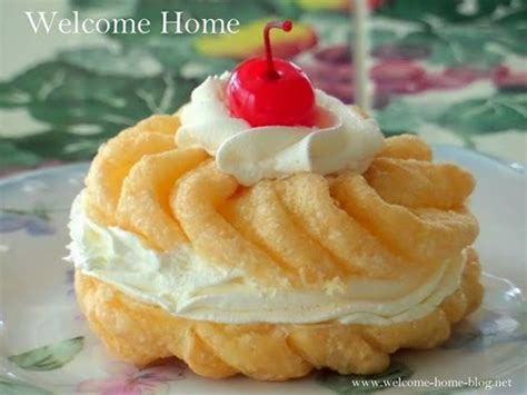 Welcome Home: Cream Filled French Crullers | WELCOME HOME ...