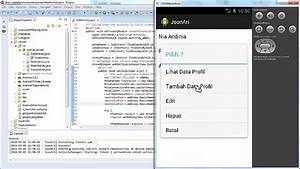 Tutorial Eclipse Android + JSON (input, edit, delete, view ...