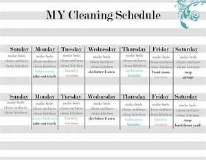 cleaning schedule template e commercewordpress With domestic cleaning schedule template