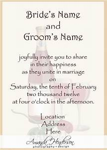 wedding invitation message from bride and groom yourweek With indian wedding invitation wording from bride and groom modern