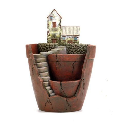Garden Decoration Pots by Flower Pots Garden Planters Resin Creative Pots For