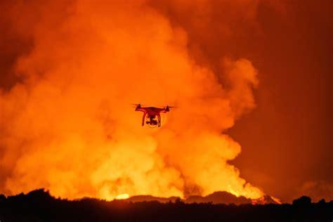 drones vulcoes em erupcao precisamos dizer mais