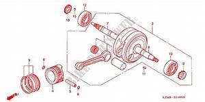 Crankshaft  Piston For Honda Wave 125 S  Kick Start 2009