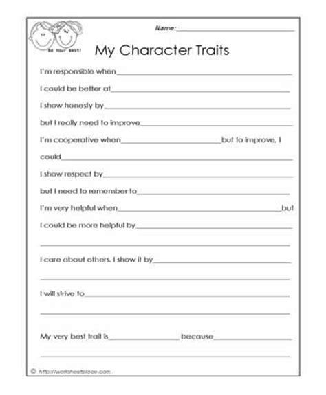 my character traits social skills worksheets therapy stuff social skills counseling