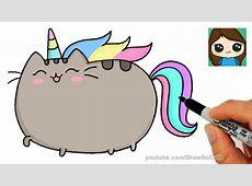 How to Draw Pusheen Unicorn Easy clipzuicom